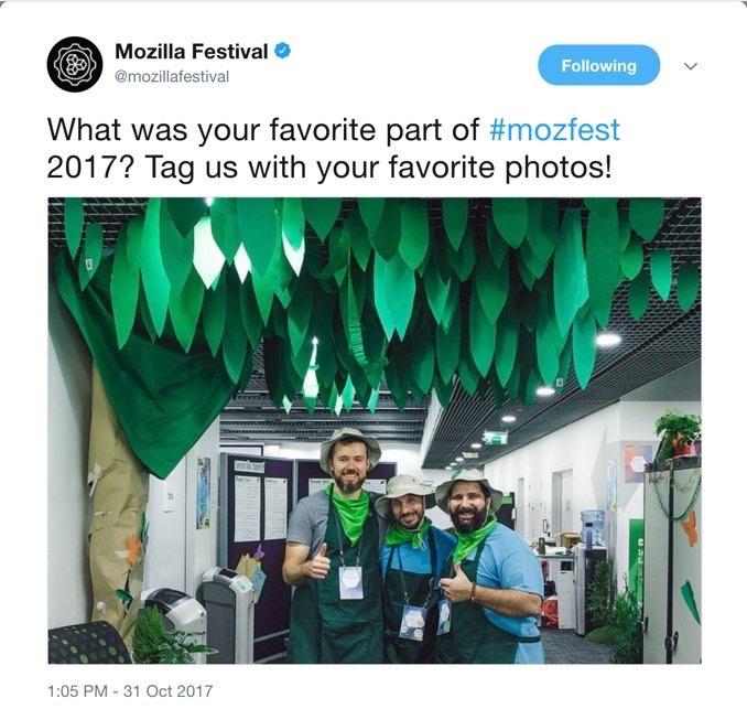 mozfest tweet web literacy space wrangling team