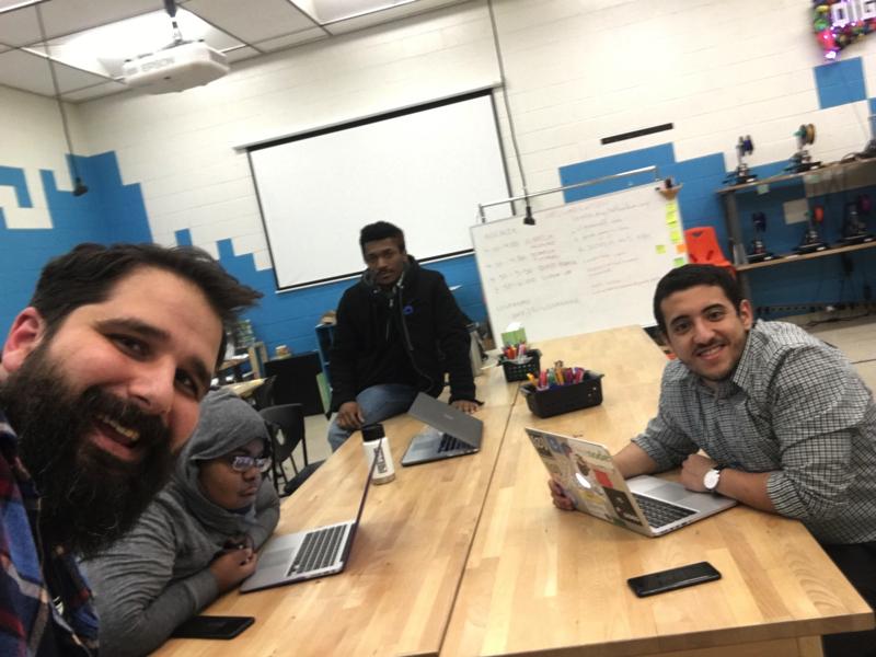 March 07, 2018 homebrew website club meetup at Digital Harbor Foundation