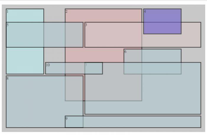 mondrian inspired css grid practice